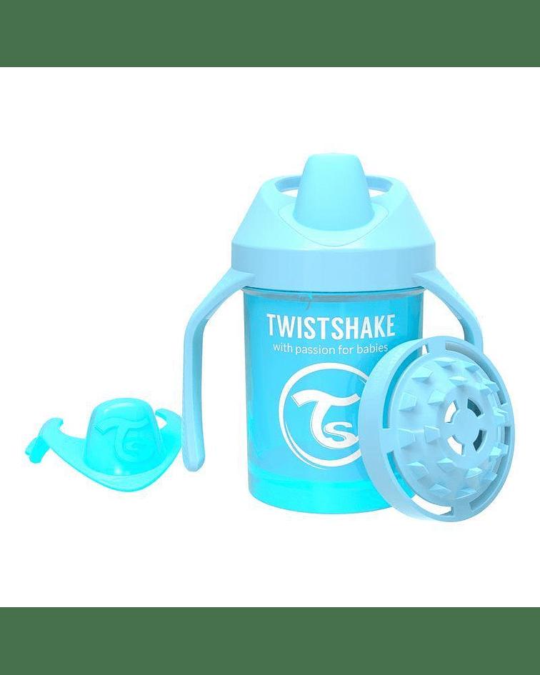Vaso mini cup celeste 230 ml