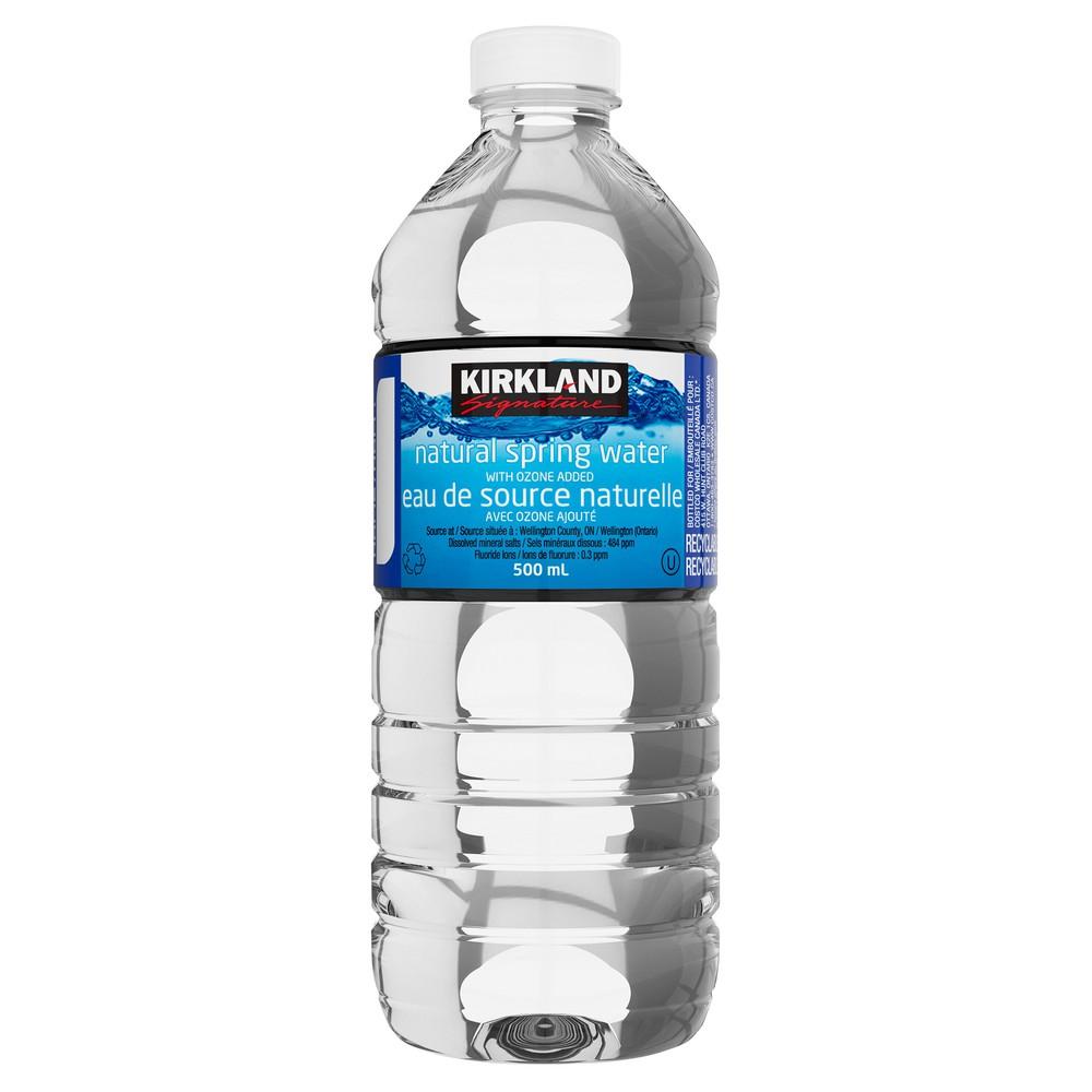 Natural spring water 40 x 500 mL