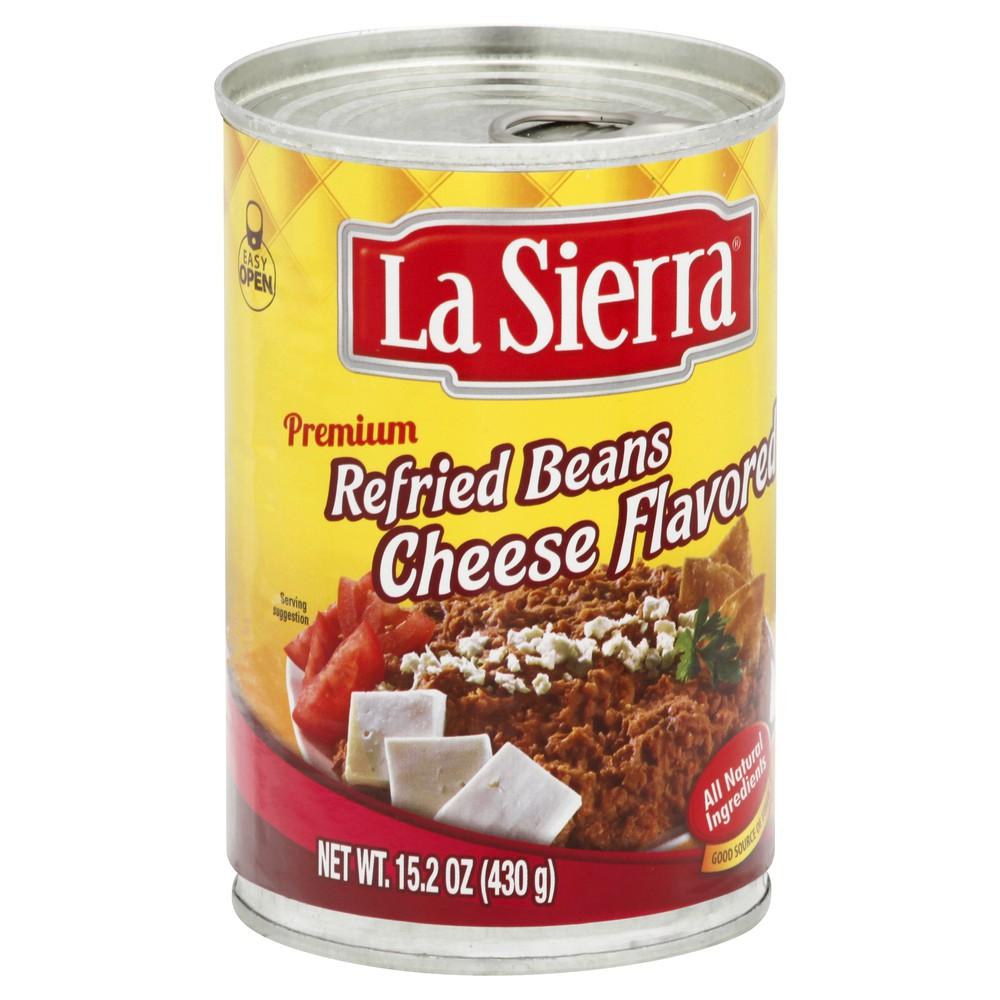 Premium cheese flavored beans