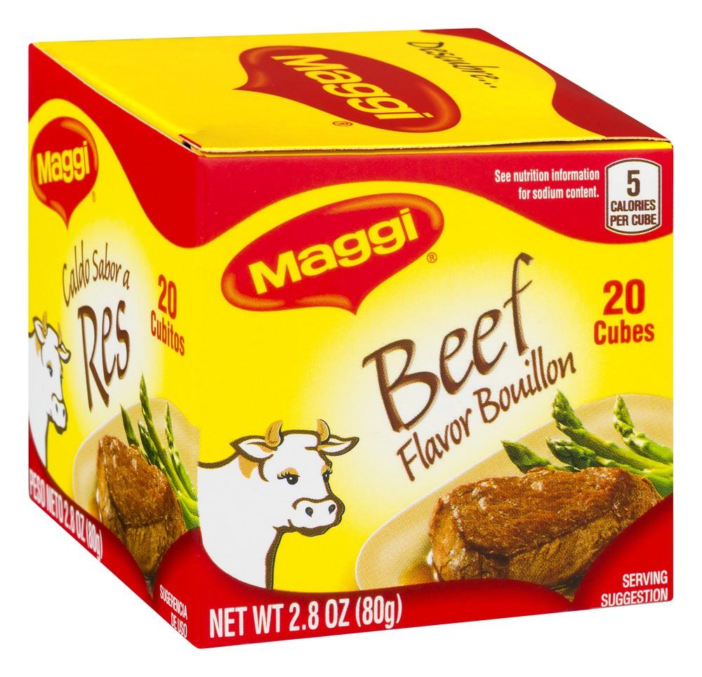Bouillon Cubes Beef Flavor