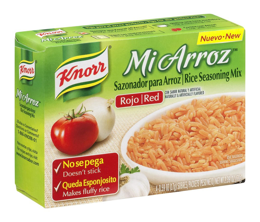 Mi arroz rice seasoning mix red