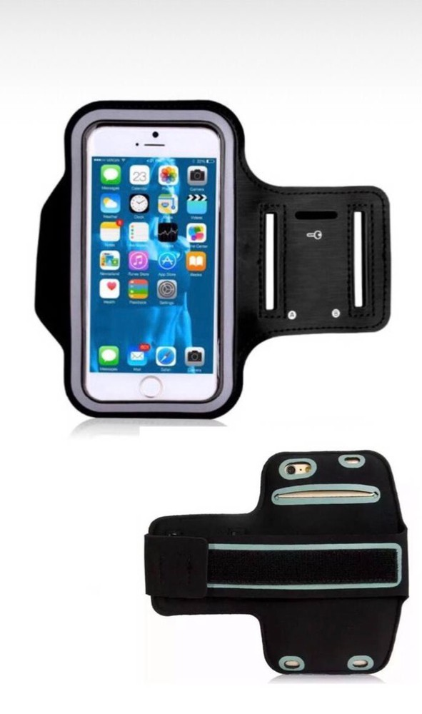 Armband deportivo porta celular 6.5'' negro