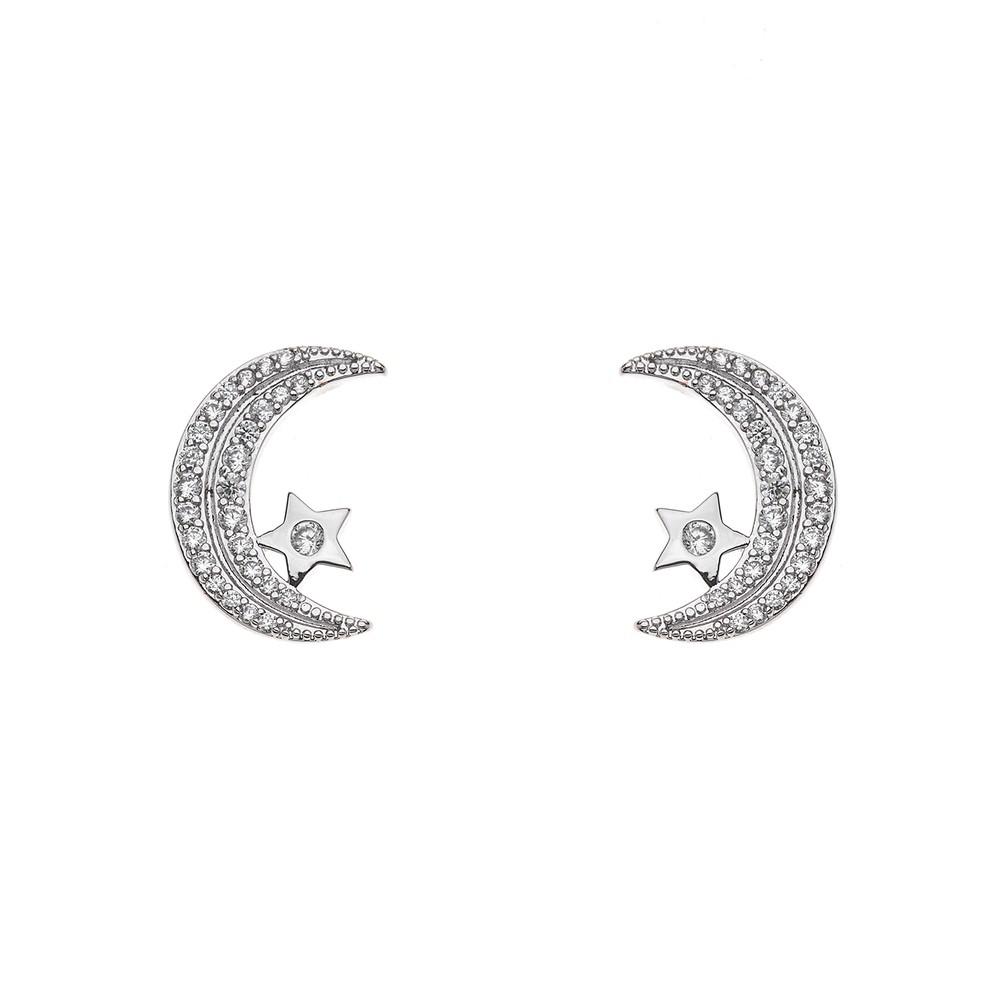 Aro  Waning Moon Micro Pave Regalos 20mm