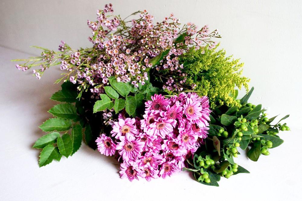 Flores para casa a granel 20 Varas de flor