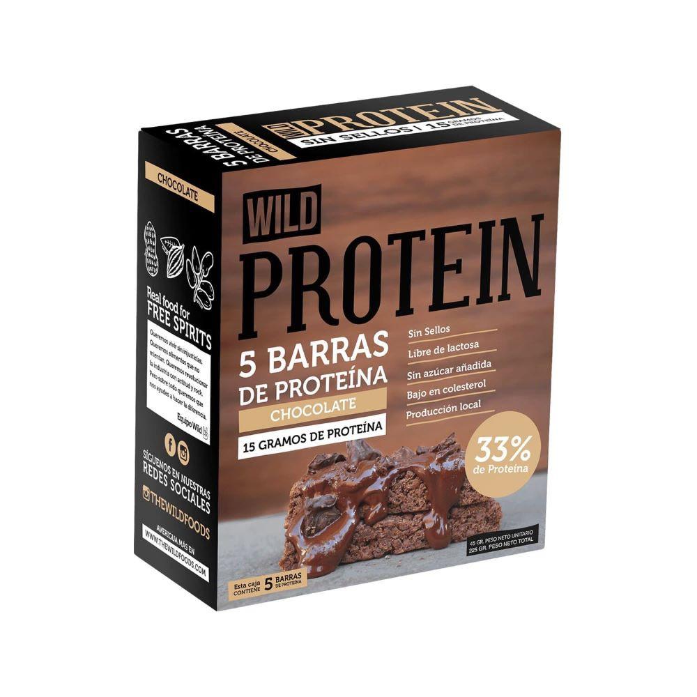 Barra de proteína Wild protein chocolate