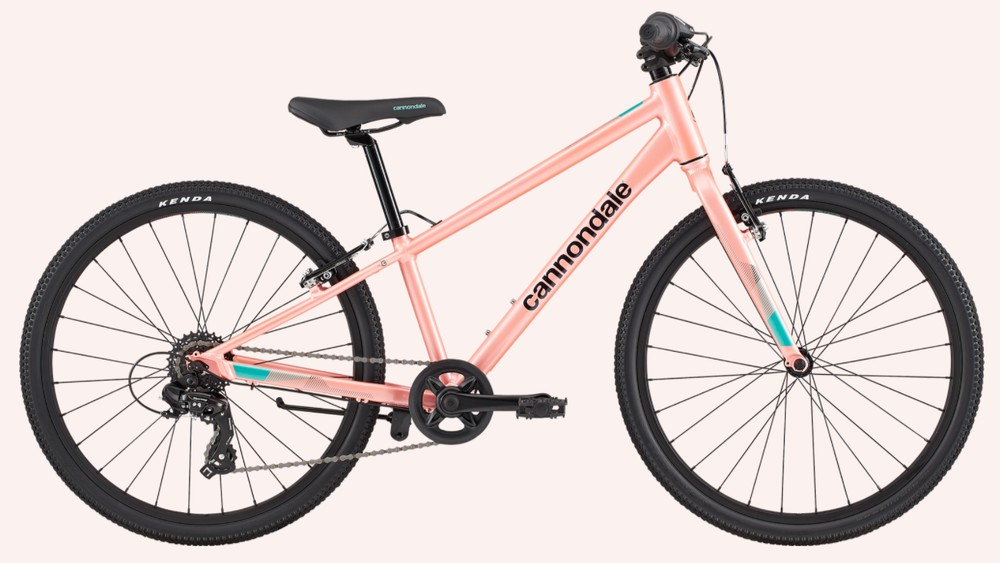 """Cannondale quick girl's 24"""" hybrid bike 1 pc"""