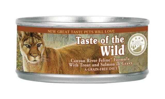 Canyon river feline trucha y salmón