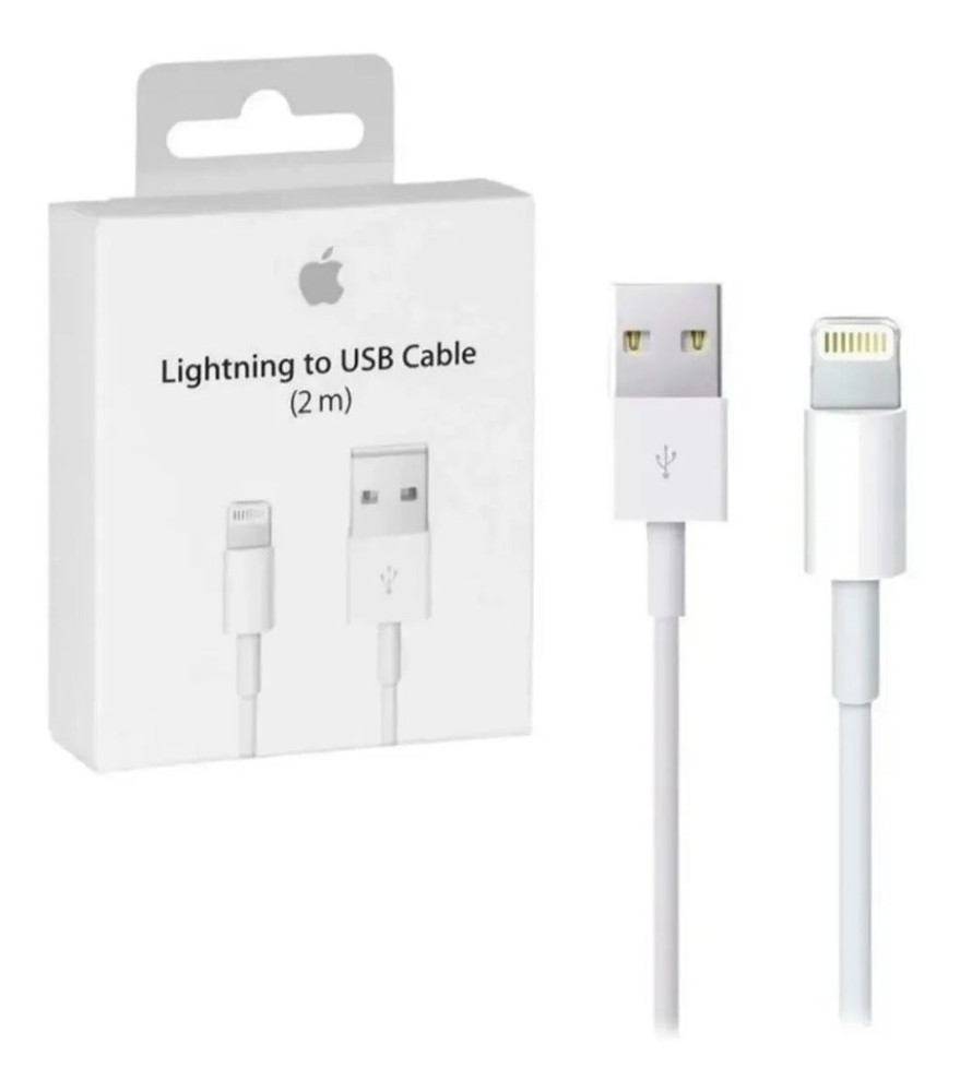 Cable usb iPhone lightning 2m