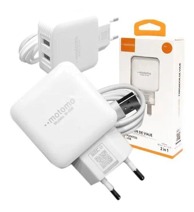 Cargador micro usb 2.1 amp