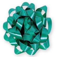 Moño de regalo grande verde