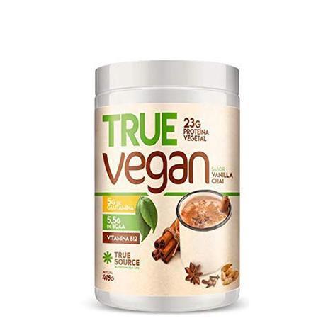 True vegan sabor vanilla chai