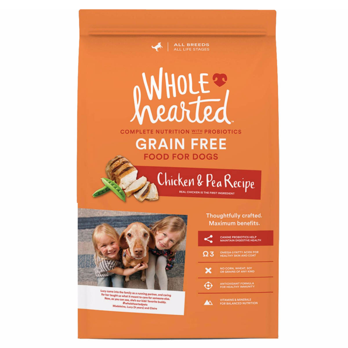 Alimento natural para perro adulto de pollo