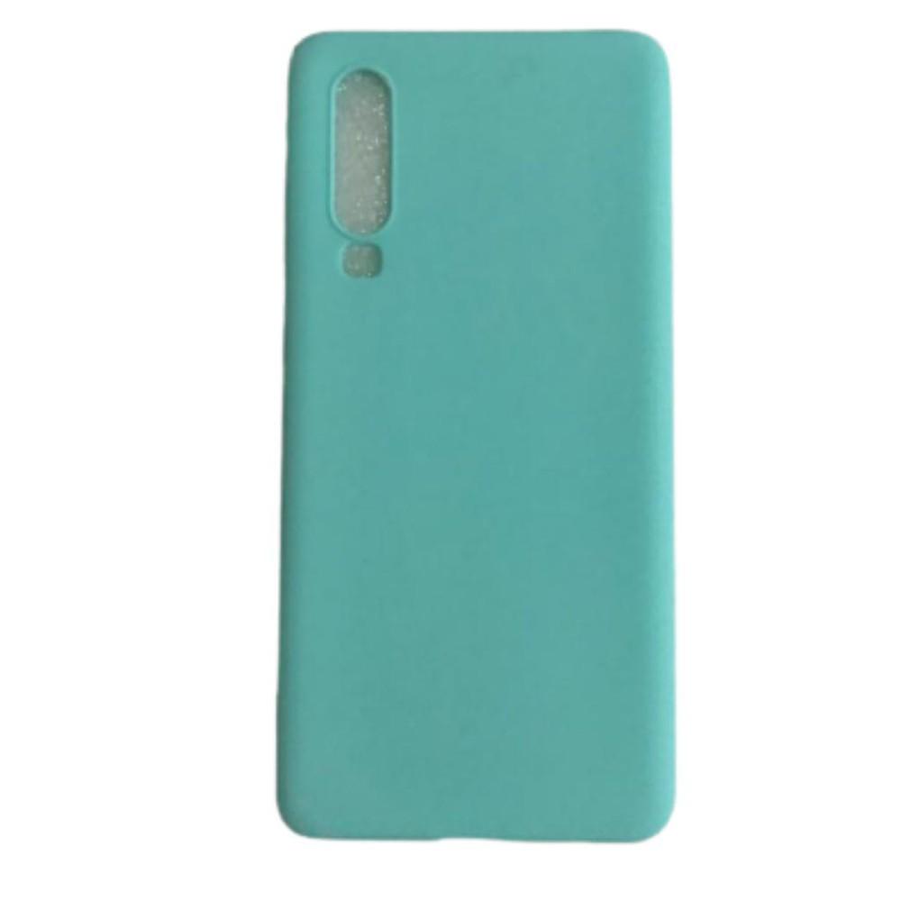 Carcasa turquesa Huawei P30-Silicona delgada