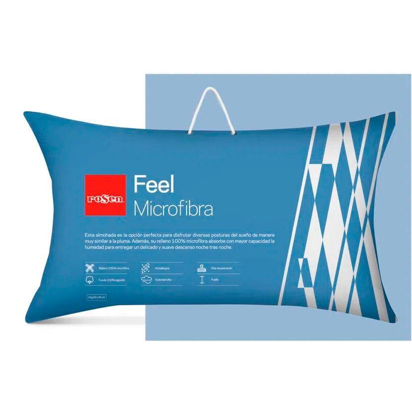Almohada Feel Microfibra - King 50 x 90 cm