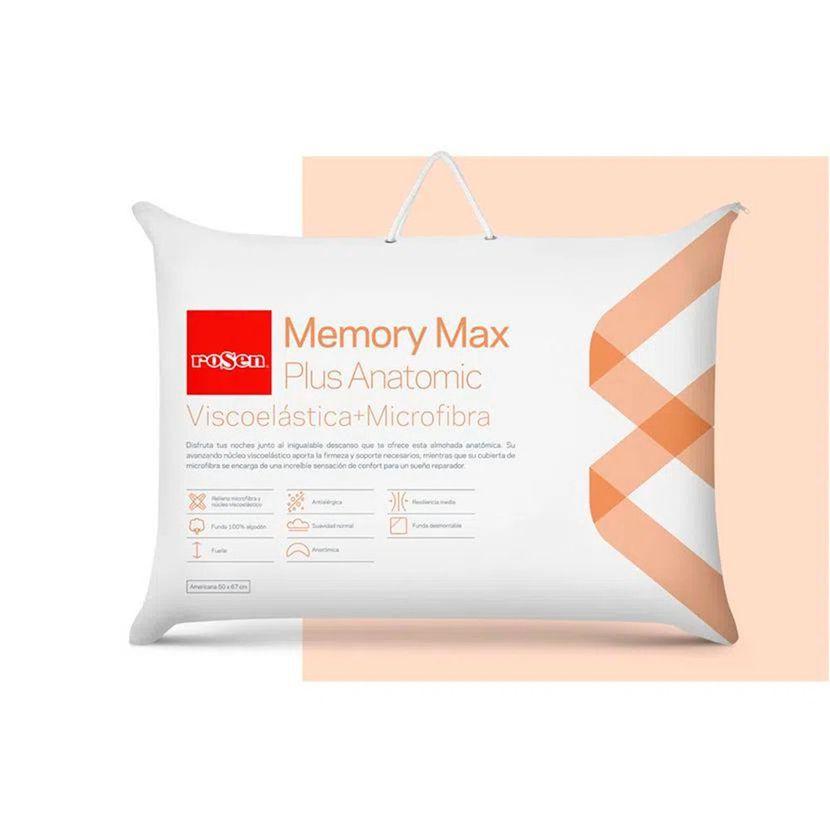 Almohada Memory Max Plus Anatomic - Americana 50 x 67 cm