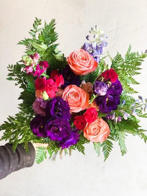 Surtido de estación colorido 17 a 19 varas flor