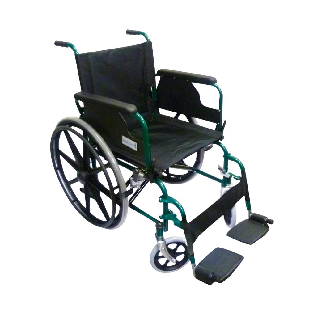 Silla de  ruedas aro  de pu 46 cm mag