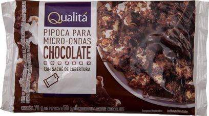 Pipoca para micro-ondas sabor chocolate