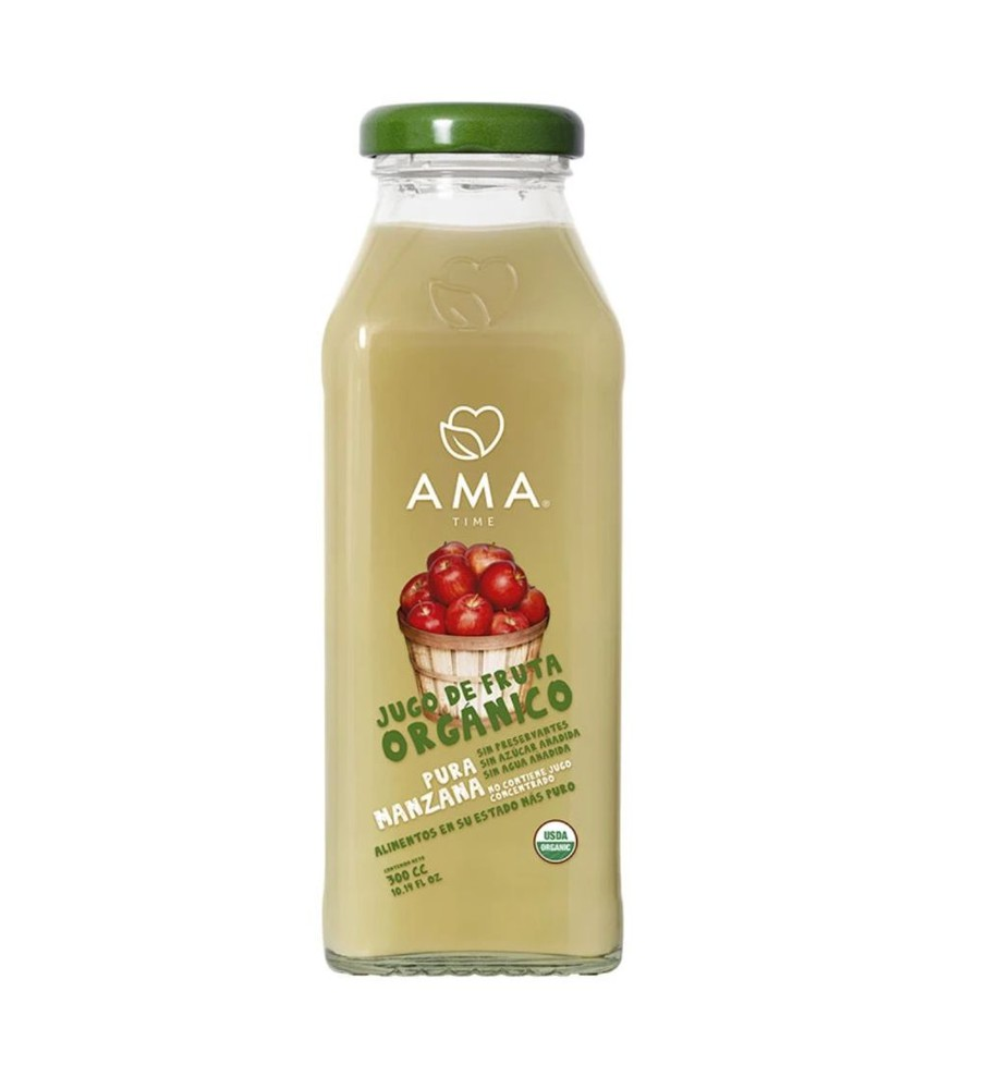 Jugo natural orgánico manzana 300 cc