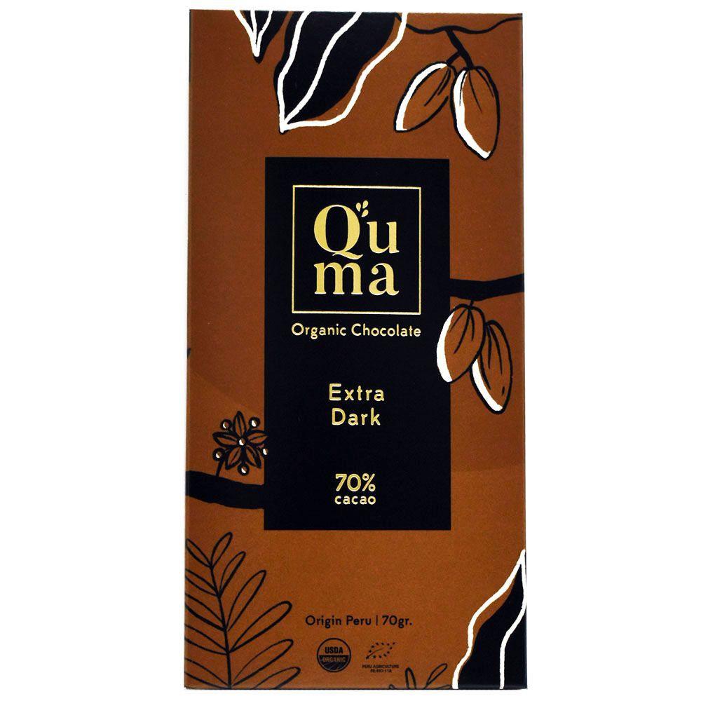 Chocolate orgánico extra 70% 70 g