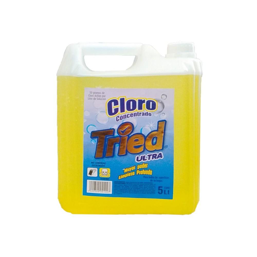 Cloro concentrado 5 LTS