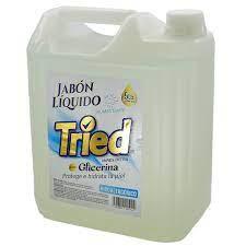 Jabon liquido glicerina 5 LTS