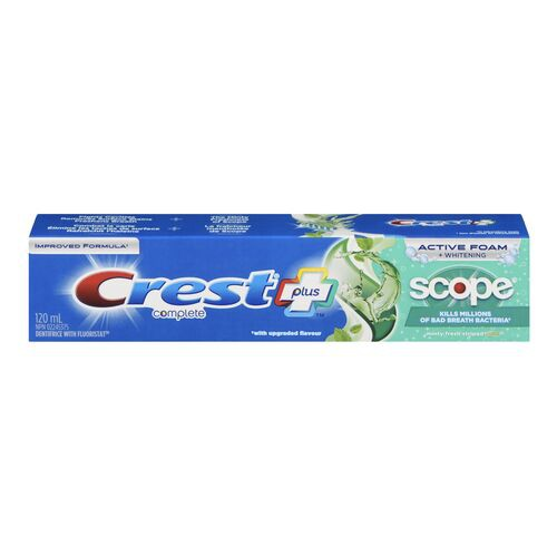 Scope whitening toothpaste