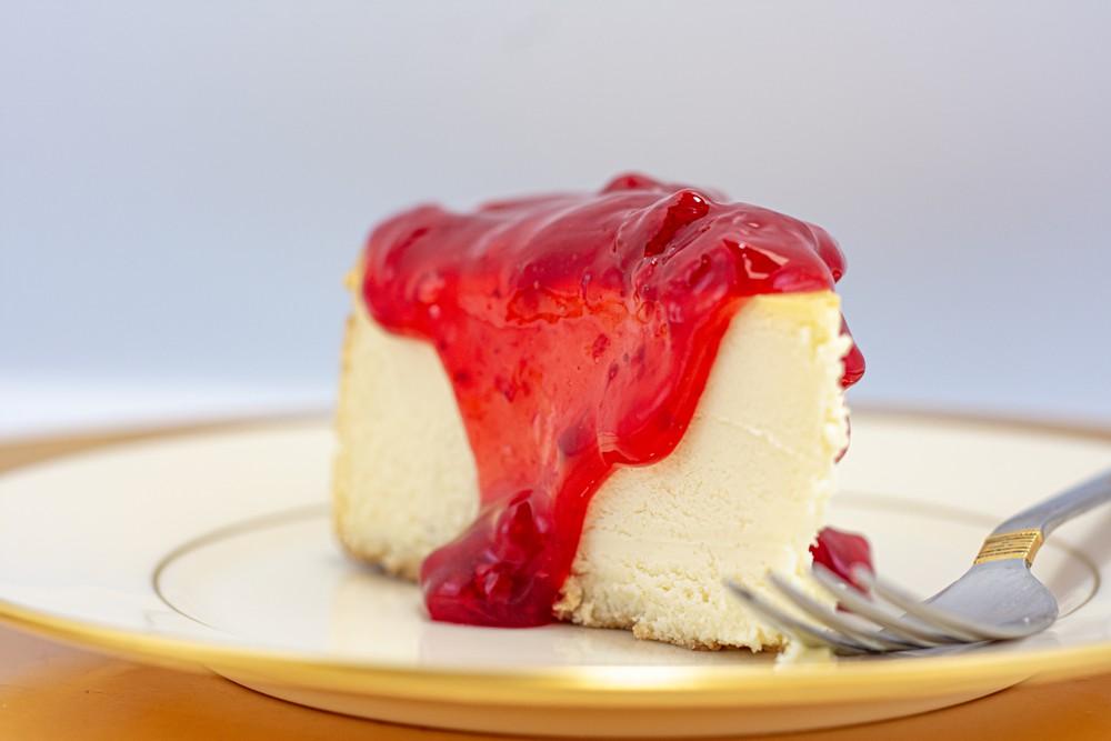 Strawberry cheesecake slice Slice