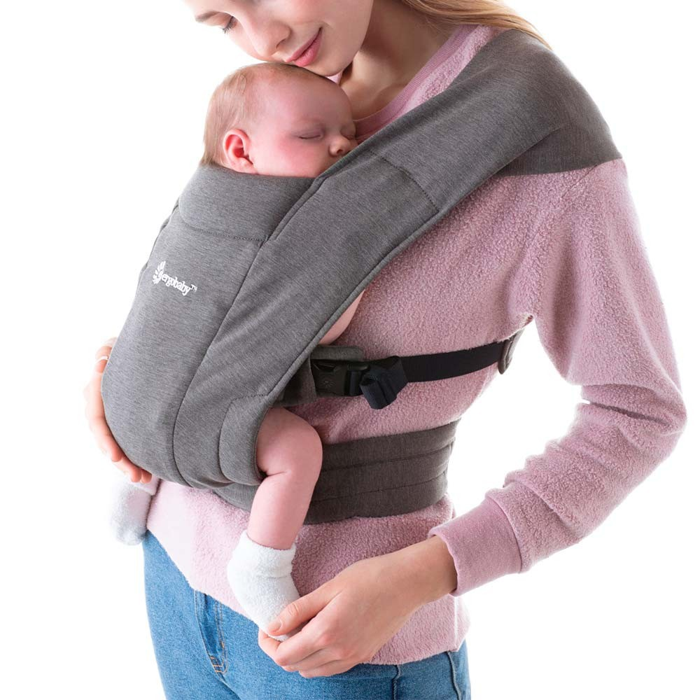 Portabebés embrace - heather grey Recién nacido a 11.3kg