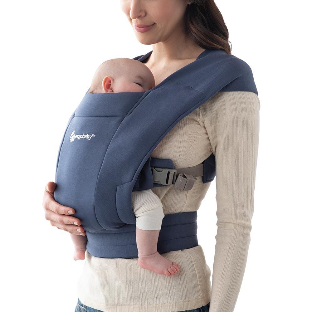 Portabebés embrace - soft navy Recién nacido a 11.3kg