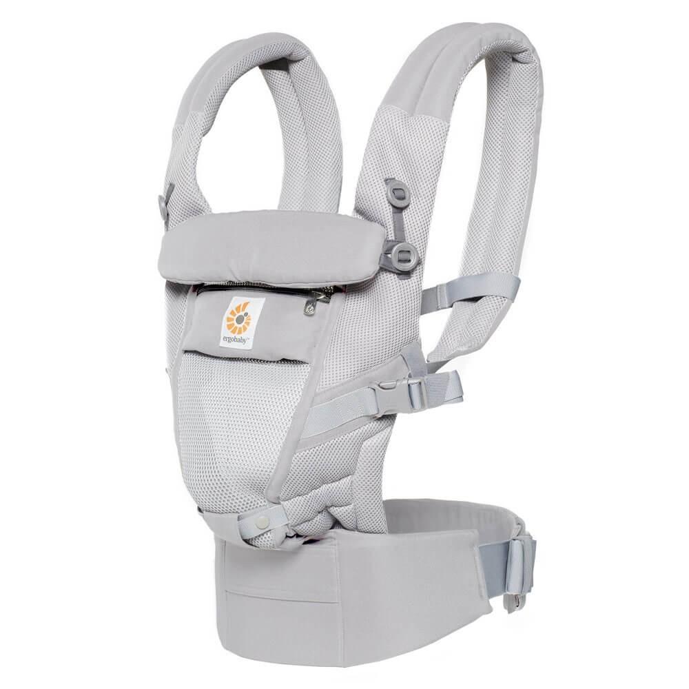 Portabebés adapt cool air mesh - pearl grey Recién nacido a 20kg