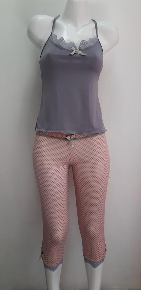Pijama Capri Rosa