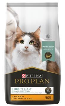 Live clear gatos reduce alérgenos 3kg