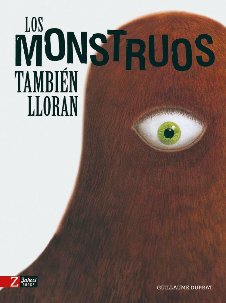 Los monstruos también lloran Libro de 24 x 33 cm. 30 páginas. Tapa dura
