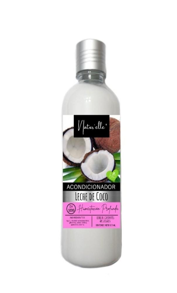Acondicionador leche de coco Botella dispensadora 500 ml
