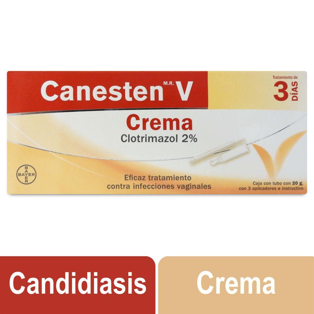 Crema tratamiento 3 días infecciones vaginales
