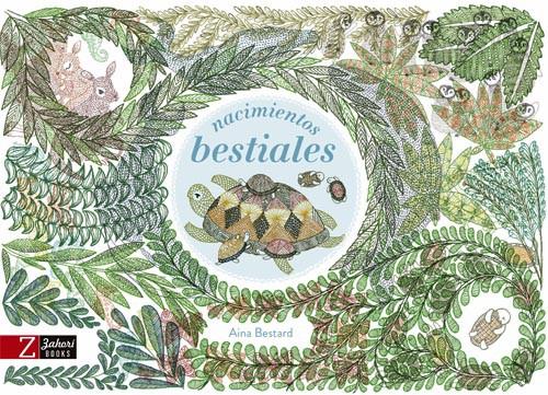 Nacimientos bestiales Tapa dura, 72 páginas, 27 x 18 cm.