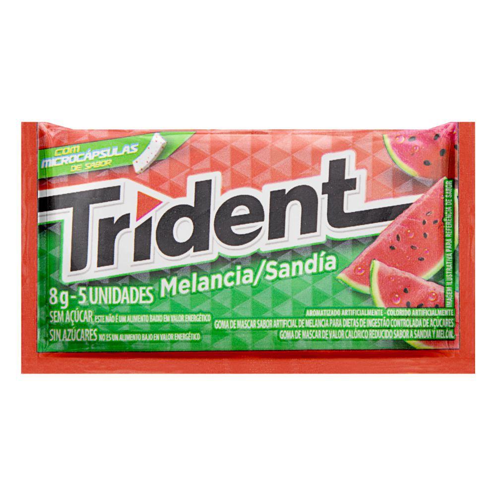 Goma de mascar sabor melancia