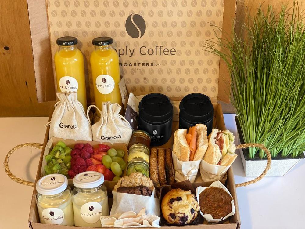 Brunch Box desayuno Caja
