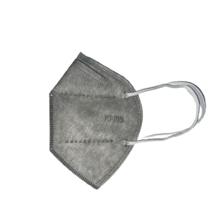Mascarillas kn95  adulto gris Pack de 10 unidades