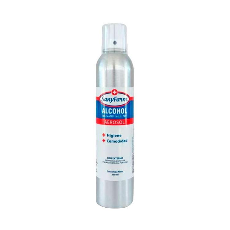 Alcohol aerosol 70º Envase de 100 ml