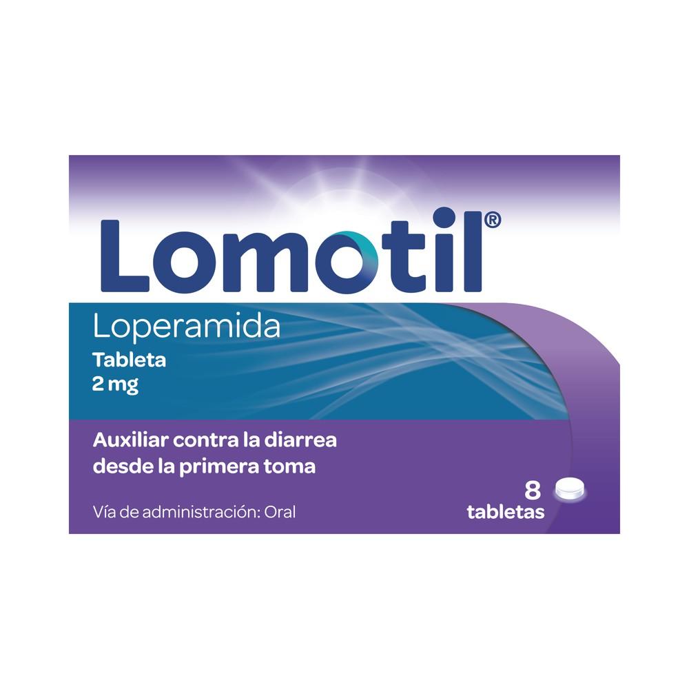 Clorhidrato de loperamida 2mg