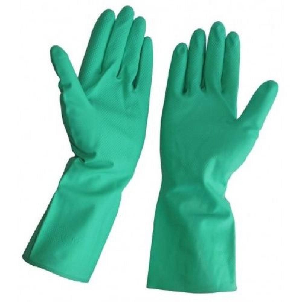 Guante aseo lavado nitrilo verde chem-gard 2 unidades
