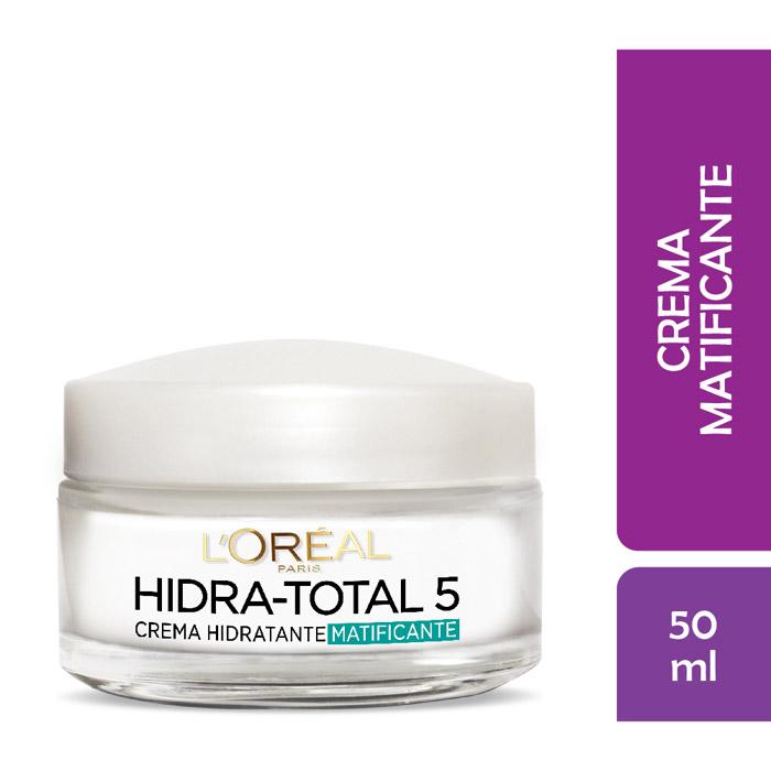 Crema hidratante piel mixta hidra total 5