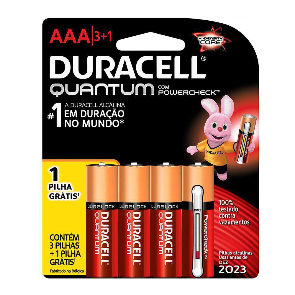 Pilha alcalina AAA quantum