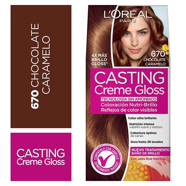 Tintura capilar Creme Gloss chocolate 670