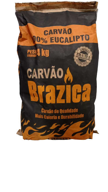 Carvão eucalipto 4kg
