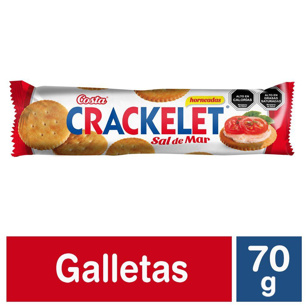 Galleta Crackelet con sal de mar