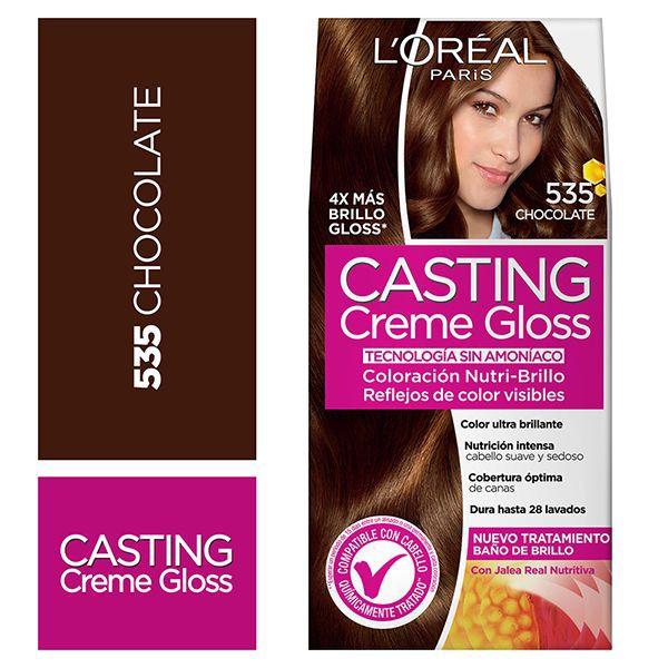 Tintura capilar Creme Gloss chocolate 535