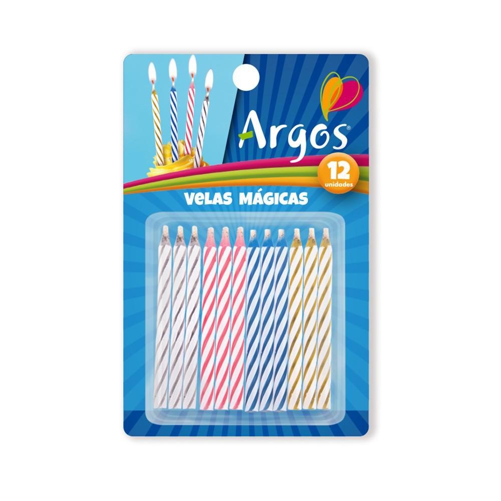 Velas mágicas para cumpleaños